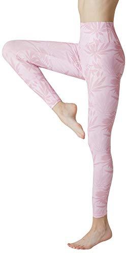 SENXINGYAN Leggings Mujer Cintura Alta Deportes Yoga Largos Elásticos y Transpirables Para Pantalones Gym Fitness de Running Ejercicio Mallas,Negro,M/L