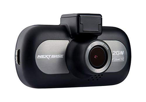 Nextbase 412GW - Full 1440p QUAD HD In-Car Dash Camera DVR - 140° Viewing Angle – WiFi and GPS - Night Vision - Black - Powered Magnetic Mount - Award Winning