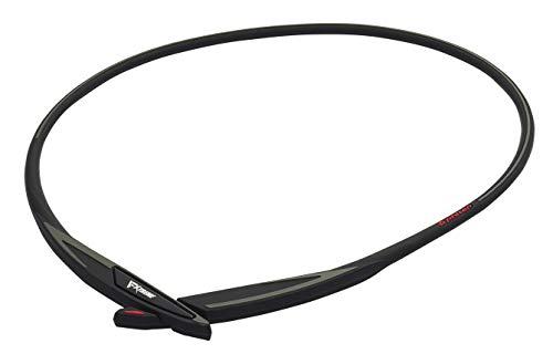 ファイテン(phiten) ネックレス RAKUWAネック EXTREME クロス ブラック/レッド 50cm