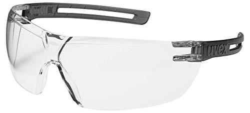 uvex x-fit Schutzbrille 9199 - Kratzfest & Beschlagfrei, 100% UV-400-Schutz - Sicherheitsbrille mit Klarer Scheibe - Chemikalienbeständige Arbeitsbrille für Labore