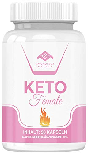 Keto Female | Stoffwechsel | Garcinia Cambogia | Vegan | schnell | 50 Kapseln