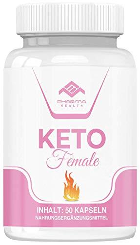 Keto Female | Abnehmen | Stoffwechsel | Garcinia Cambogia | Vegan | schnell | 50 Kapseln