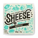 Sheese QUESO ESTILO GRIEGO 200g (VEGANO) Sin Lactosa Pack de 6