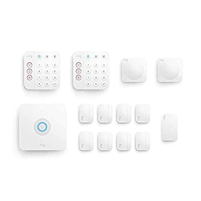 Ring Alarm 14-piece kit (2nd Gen) – home security system with optional 24/7 professional monitoring – Works with Alexa from Ring
