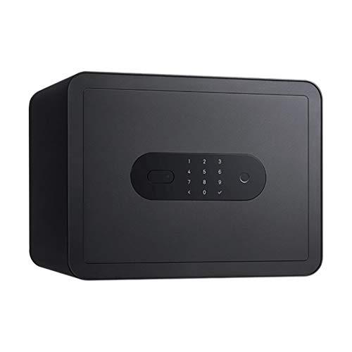 TYLZDZ Cajas Fuertes Caja De Seguridad Biométrica Huella Digital Contraseña Digital Desbloqueado Seguridad Corte por Láser Instalación En El Piso Gabinete Antirrobo Gabinete Pequeño para El Hogar