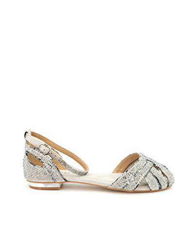 Zapatos Planos de Mujer Alma en Pena Color Arena. V21240 Suede Taupe - Talla: 40