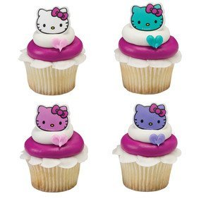 Hello Kitty Cupcake Toppers (Pack of 24)
