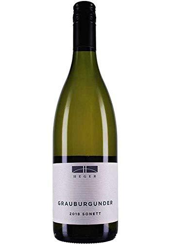 Joachim Heger Grauburgunder trocken sonett 2019 (1 x 0,75L Flasche)