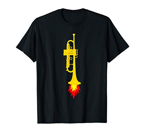 TROMPETEN-RAKETE, Blasorchester Geschenk, Lustiges Trompete T-Shirt