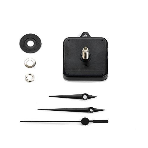 Clock-it Mécanisme Horloge de qualité – Extra Long, aiguilles, bateau H 24 mm/filetage 18 mm. Entreprise Italienne spécialisée