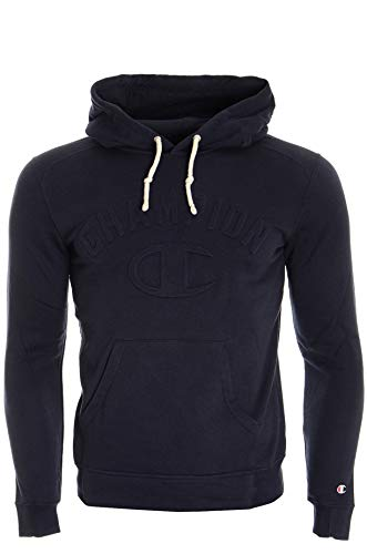 Champion Hooded Sweatshirt-Contemporary Evolution Felpa, Blu (NNY), X-Large Uomo
