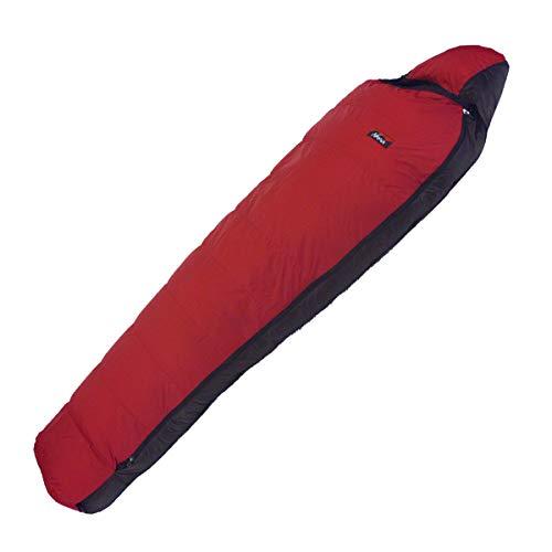 NANGA(ナンガ) 寝袋 アウトレット訳ありダウンシュラフ450STD 最低使用温度-8度 カーマイン 左ジッパー