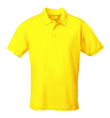 Just Cool - Performance - Performance Polo Shirt, atmungsaktiv, Shirt, atmungsaktiv, XL,Sonnengelb