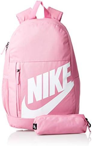 Nike Youth Nike Elemental Backpack - Fall'19, Watermelon/Watermelon/(Valerian Blue), Misc