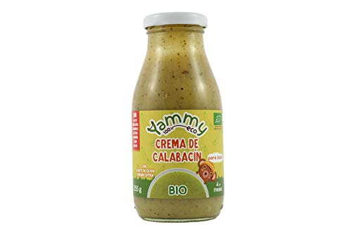Yammy Crema Ecológica De Calabacín Para Bebés A Partir De +4 Meses 255Gr 6 Unidades 2000 g