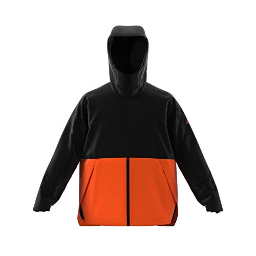 adidas Herren Urban In R.R. Jacke, Black/Orange, L