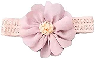 Pink Lace & Purple Flower Hair Accessories for baby girl head band hair band headwear