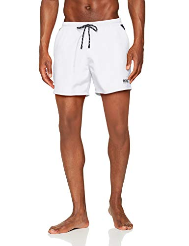 BOSS Herren Pearleye Boardshorts, Natural103, XX-Large
