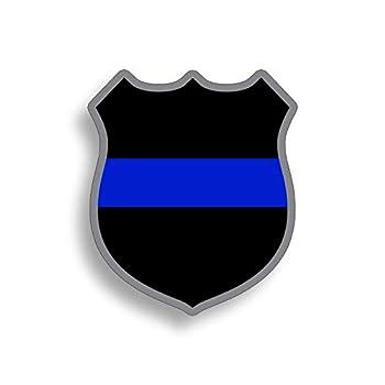 Support America Police Badge Blue Line Sticker Decal Lives Matter 2nd Amendment