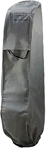 Kofull Golftasche Regenmantel Regenhaube Regenschutz für Golftaschen, grau