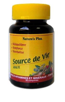 Nature's Plus - Source De Vie Adulte 60 Comprimes Natures Plus