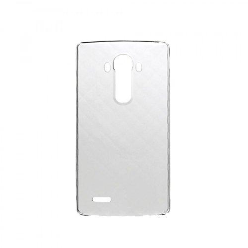 Fall der rückseitigen Abdeckung CSV-100 Original LG für G4 H815 transparent + Schutzfolie