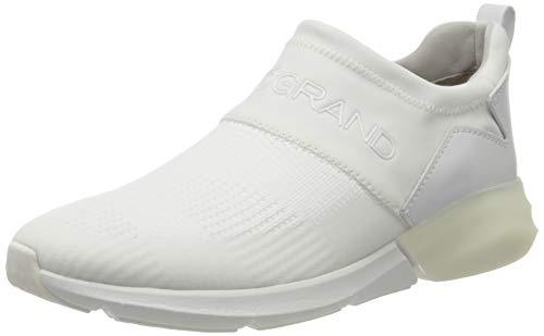 Cole Haan Zerogrand All-Day Slip On Runner Stchl, Zapatillas para Mujer, White (Optic White/Harbour Mist/Optic White Optic White/Harbour Mist/Optic White), 37.5 EU