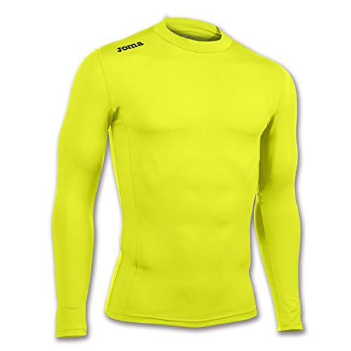 Joma Academy Camiseta térmica, Hombres, Amarillo Fluor, 5XS