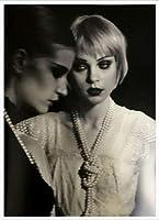 ポスター ピーター リンドバーグ VISIONAIRE(ヴィジョネアー)ジェシカ・スタム 額装品 アルミ製ハイグレードフレーム(ホワイト)