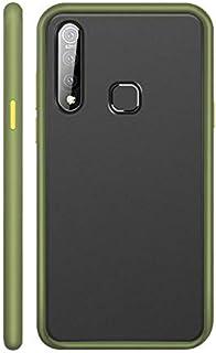 Xiaomi Mi 9 Lite Frame Translucent Matte PC Back Cover - Light Green