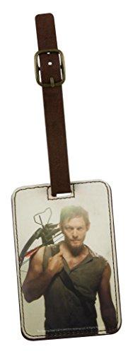 The Walking Dead Unisex-Erwachsene Identificador Daryl Dixon Gepäckanhänger mit Armbrust 12Cm, bunt, Einheitsgröße
