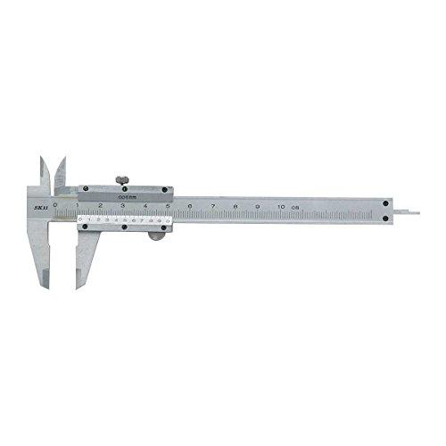 SK11 測定具 ノギス 最大計測100mm バーニア目盛り付 収納ケース付 奥行0.3×高さ16.5×幅6cm