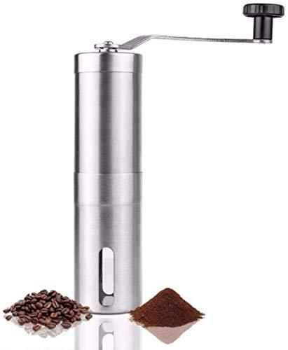 PULLEY Ręczny młynek do kawy ekspres do kawy rdzeń ceramiczny 304 stal nierdzewna młynek ręczny młynek ceramiczny kukurydza młynek do kawy zadzior młynek do kawy