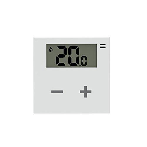 Rialto termostato intelligente AGGIUNTIVO per Kit Rialto: programmabile da app per gestione temperatura invernale ed estiva di casa, ufficio e azienda