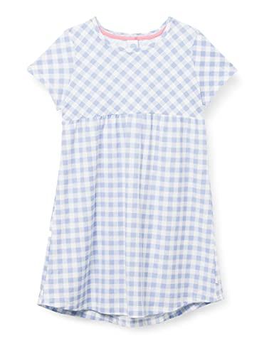 Sanetta Mädchen blau Nachthemd, Blue Powder, 104