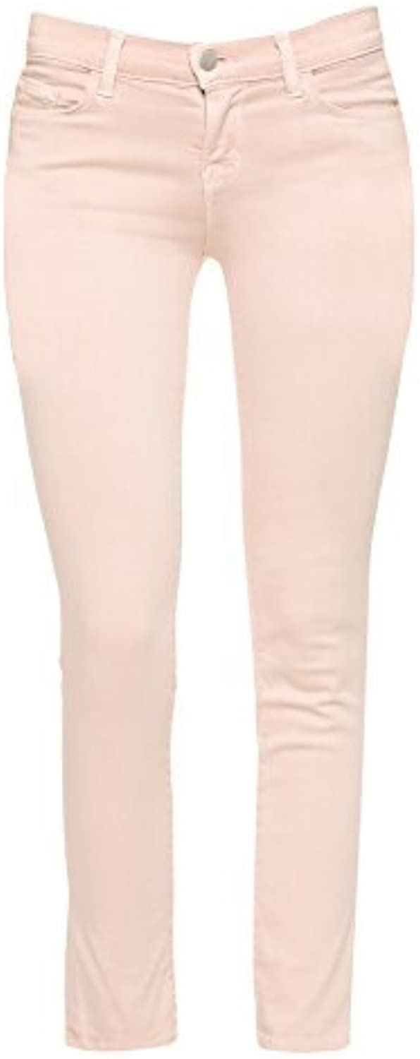J Brand + Theory Women's Pink Mid Rise Skinny Jeans