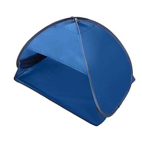 Abris de Soleil Portatifs avec Support de Téléphone Portable Auvent Instantané Pare-Soleil Mini Tête Pop Up Tente Tente d'ombre Automatique pour Plage Camping Pêche Randonnée Pique-Nique