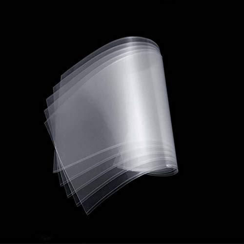 XINYE wuxinye Film 5pcs SLA/LCD Sheet Non-Stick Reservoir Release Liner Fit For Photon Resin DLP 3D Printer 140x200mm 0.15-0.2mm