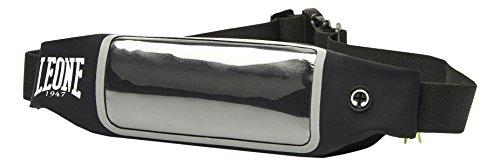 LEONE 1947 - Belt bag Marsupio Porta Cellulare, Nero, Unisex