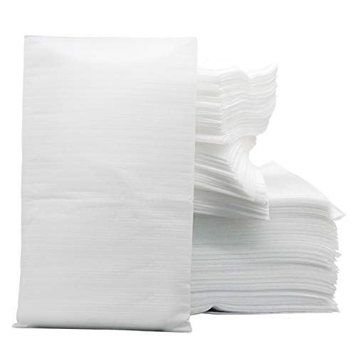 100Pcs 20X25Cm 0.5 T Friction RéSistance D'Emballage Coussin Mousse Enveloppes Feuilles Pochettes Pour La Vaisselle En Verre Vases Porcelaine Collectibles