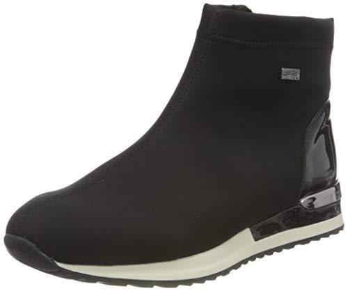 Remonte Damen R2571 Mode-Stiefel, Nero/schwarz / 02, 40 EU