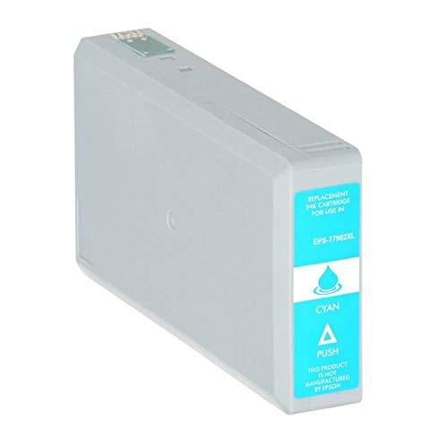 T7902-XL Cartuccia compatibile Ciano Per Epson WorkForce WF-4630 4640 5110 5190 5620 5690 79XL