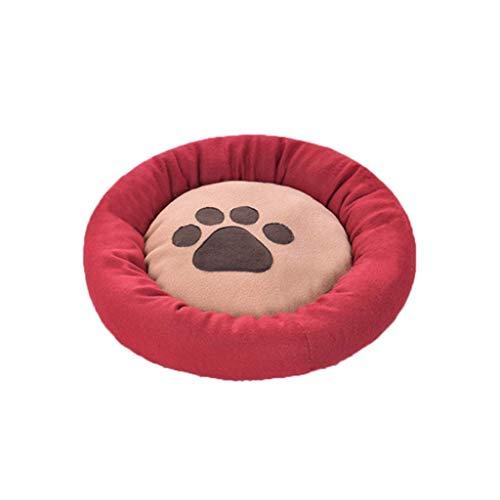 APcjerp Pet Nest Comfortable Sleeping Mats Pet Supplies Mattresses Cat Litter Kennel (Size : 60cm) Hslywan (Size : 45cm)