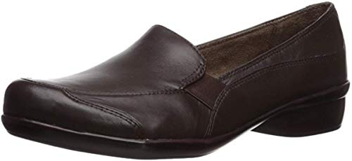 Natural Soul Womens CARRYON Loafer Flat, Brown, 9.5 M US