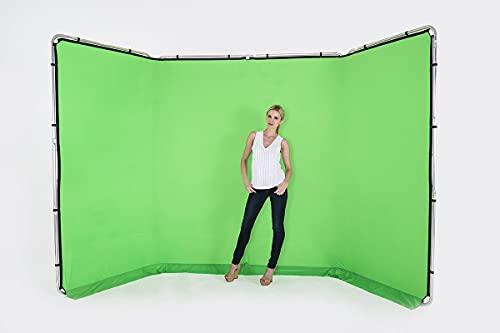 Manfrotto LL LB7622 Fondale Panoramico in Tessuto da 4 m, Colore Verde
