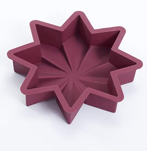 Moule en silicone, 100 % silicone, Sans BPA (étoile, Berry)