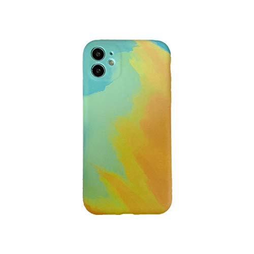 Henraly - Carcasa para iPhone 12 Mini 11 Pro XS Max XR X 7 8 Plus se 2020 fundas antigolpes para el agua Ding-PP307-6-For-iphoneX