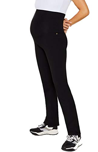 ESPRIT Maternity Damen Pants Jersey Umstandshose Umstands Schlafanzughose Loungehose (schwarz (Black), M)