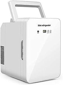 LZXH Réfrigérateur de Voiture Réfrigérateur Compact Silencieux 12L Petit réfrigérateur de Voiture Portable avec contrôle de la température Refroidisseur et radiateur thermoélectriques Portables,