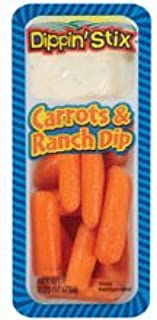 Reichel Foods Carrot Dippin Stix with Ranch, 6 count -- 6 per case.